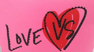 love vs victoria s secret pink zip makeup cosmetic bag case pouch valentine nwt