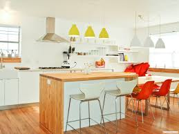 kitchen endearing colorful small ikea kitchen decoration using red clear kitchen chair including modern cone lime green kitchen pendant lamp shade and