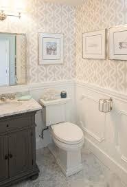 st james single vanity in powder room