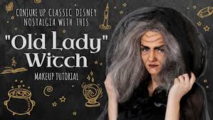 conjure up clic disney nostalgia with this old lady witch makeup tutorial