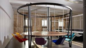 google office chairs. i can\u0027t decide if these swinging office chairs are amazing or terrible google f