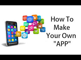 How To Make Your Own App Youtube