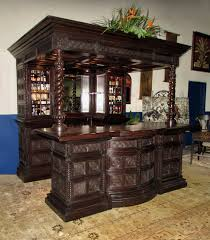 maitland smith mahogany bar cabinet pub room system 02