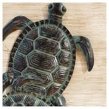 on turtle wall art painting with sea turtle wall art hand painted greens aiden lane target
