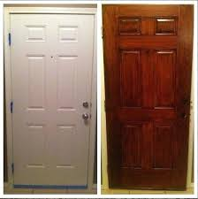 gel stain for fiberglass door using gel stain on a fiberglass door garage door too com gel stain for fiberglass door