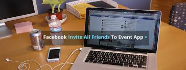 facebook invite all friends to events pages groups