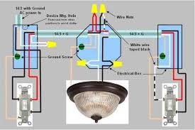 9 best images of double switch wiring diagram double light how to wire a double switch to two separate lights at Wiring Diagram For Double Switch