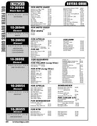 Emgo Oil Filter Cross Reference Chart Oil Filter Buyers Guide 1