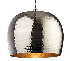 assam large nickel and brass single light pendant firstlight lighting