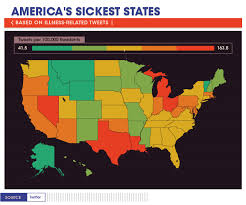 Cdc Communicable Disease Chart Americas Sickest States