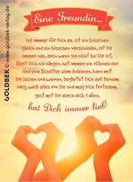 Postkarten Freundschaft Eine Freundin Best Friend Zitate