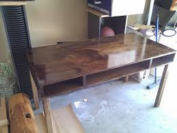Homemade Desk by lazyhacker, via Flickr
