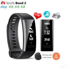 huawei band. aliexpress.com : buy original huawei sports band 2 smart wristband alloy swimmable 5atm 0.91\
