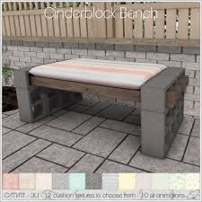 concrete block furniture ideas. Fantastic Concrete Block Bench H27F On Stunning Home Interior Ideas With Furniture