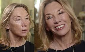 charlotte tilbury s mom is 65 and looks gorgeous in shimmery shadow