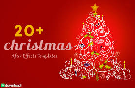 christmas free template 30 top christmas after effects free template free after effects