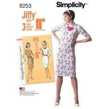 Simplicity Patterns Vintage Inspiration Simplicity Pattern 48 Misses' Vintage 48s Jiffy Dresses