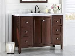 bathroom vanity with single sink