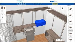Free Closet Design Software New 3d Closet Design Tool Organizedliving Com