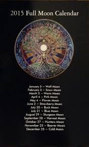 2019 Full Moon Calendar Mandala Full Moon Date Lunar
