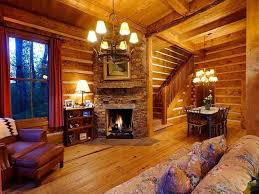 Exceptional One Room Cabin Decorating | Living Room Fireplace: Cozy Log Cabin In Aspen