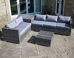rattan outdoor garden furniture corner