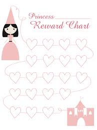 Disney Princess Behavior Chart Princess Reward Chart Download