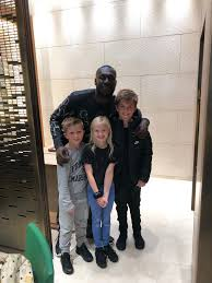 """mark king on Twitter: """"What a guy Stormzy, took time out to have a photo  with Polly Jensen and Lucas,thanks pal… """""""