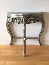 silver hall table. Silver Hall Console Table Shabby Chic Antique Style S