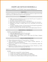 10 Curriculum Vitae Resume Sample Wsl Loyd