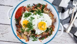 Vegetarian Big Breakfast Fries | Good Chef Bad Chef