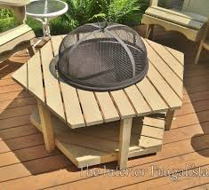 wood deck fire pit for wood deck use fire pit consider creating a wooden freestanding model