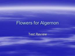 flowers for algernon test review ppt  1 flowers for algernon test review