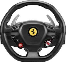 Thrustmaster T80 Ferrari 488 Gtb Edition Racing Wheel For Playstation 4 And Windows Black 4169089 Best Buy