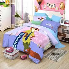 disney bedding sets queen cotton nick cartoon bedding set duvet cover bed sheet pillow cases queen