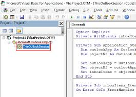 Vbscript Msgbox Chart Numbers How To Run A Vba Macro When New Mail Is Received In Outlook