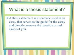 Finding your focus Start with a general topic  then narrow to     Beep com Finding the thesis statement in an essay