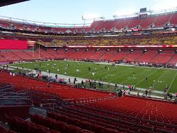 Fedex Field Virtual Seating Chart Fedexfield View From Section 218 Vivid Seats