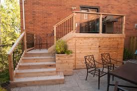 small decks patios small. Small Yard Cedar Deck And Glass2 Decks Patios A