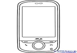 Cell Phone Coloring Pages Free Page Gallery Of Best For Picture With