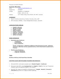 Computer Science Resume Resumes Sample Doc Cv Template Download