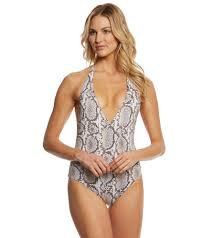 Vitamin A Serpentine Reversible Bianca One Piece Swimsuit At Swimoutlet Com Free Shipping