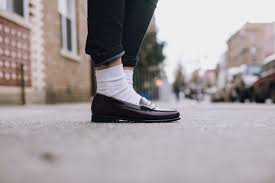 Borrowed From the Boys Bass Weejun Penny Loafers Style Girlfriend