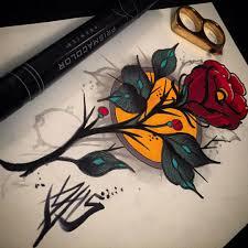 значение тату с розами эскизы татурф