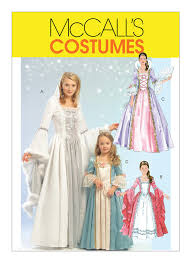 Mccalls Costume Patterns Best M48 Misses'Children'sGirls' Princess Costumes Sewing Pattern