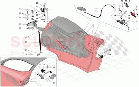 Ferrari Laferrari Doors Opening Mechanisms And Hinges Parts Scuderia Car Parts