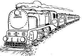 Steam Engine Coloring Pages Koshigayainfo