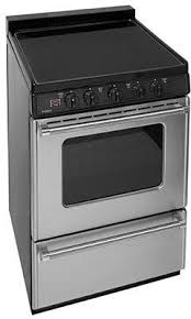 electric range top. Premier ECS7X0BP 24 Electric Smooth Top Range With Two 8 Inch And 6 Elements 1 5 Porcelain Backguard Hot Surface Indicator Interior Oven Light