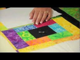 How to Sandwich a Large Quilt on a Small Table - YouTube & How to Sandwich a Large Quilt on a Small Table Adamdwight.com
