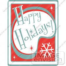 Retro Holidays Holiday Cartoon Clipart